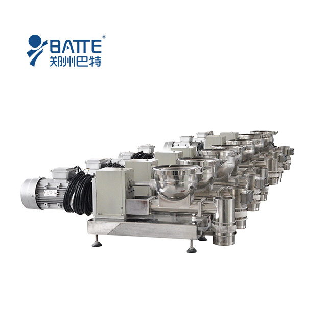 Single screw gravimetric dosing feeder